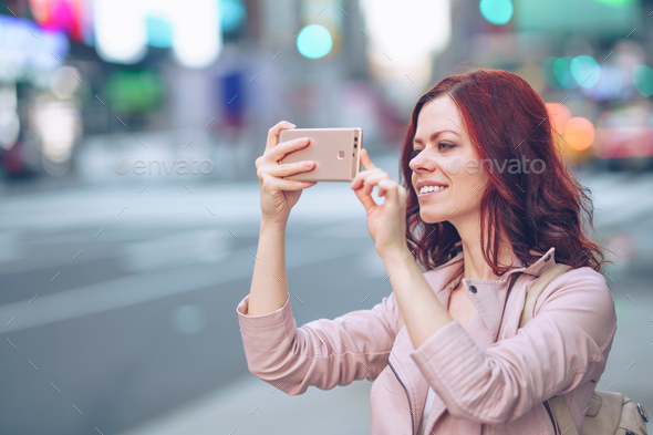 Smiling attractive girl - Stock Photo - Images