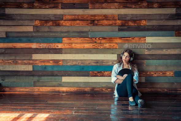 Beautiful girl indoors - Stock Photo - Images