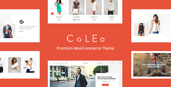 Coleo | A Stylish Fashion Clothing Store WordPress Theme