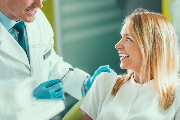 Dental Check-up In Clinic - Stock Photo - Images