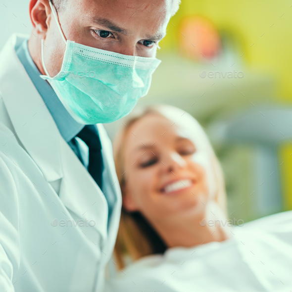 Dental inspection - Stock Photo - Images