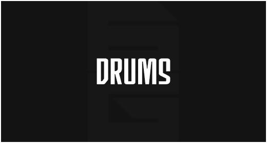 Instrument - Drums