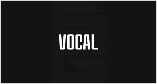 Instrument - Vocal