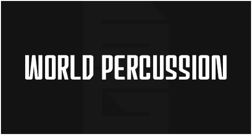 Instrument - World Percussion