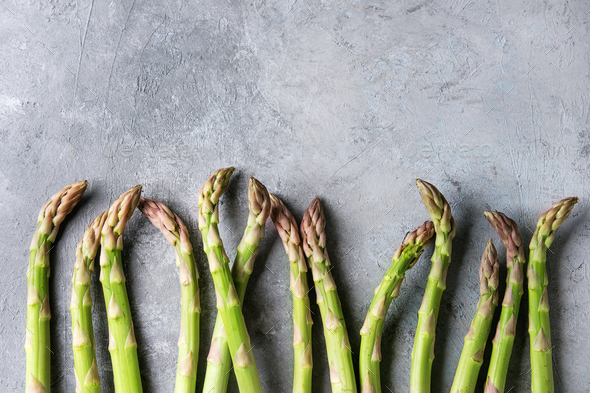 Young Green asparagus - Stock Photo - Images
