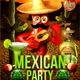 Mexican Party Flyer - GraphicRiver Item for Sale