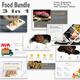 Food Bundle 3 in 1 Google Slide Template - GraphicRiver Item for Sale