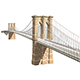 Brooklyn Bridge 3d model - 3DOcean Item for Sale
