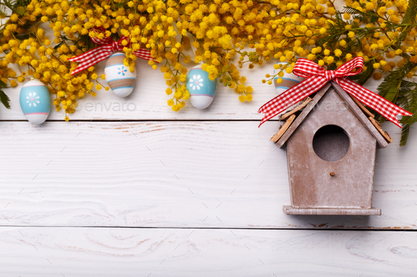 Easter background - Stock Photo - Images