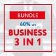 3 in 1 Business Bundle PowerPoint Templates - GraphicRiver Item for Sale