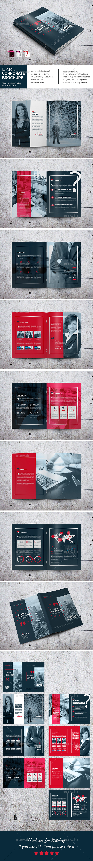 Dark Corporate Brochure - Corporate Brochures