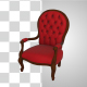 Red Chair Rotating - VideoHive Item for Sale