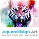 Aquarellixign Art | PS Action - GraphicRiver Item for Sale