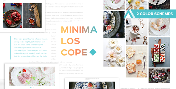 Minimaloscope - Simple and delicious Blog - Art Creative