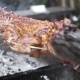 Grilled Crocodile on the Open Fire at Sea Food Restaurant, Exotic Meals in Viethnam - VideoHive Item for Sale