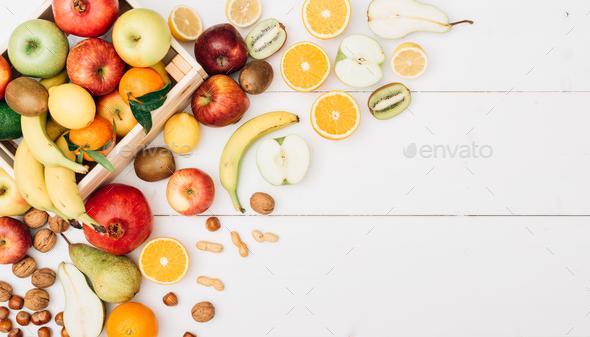 Fresh tasty fruit - Stock Photo - Images