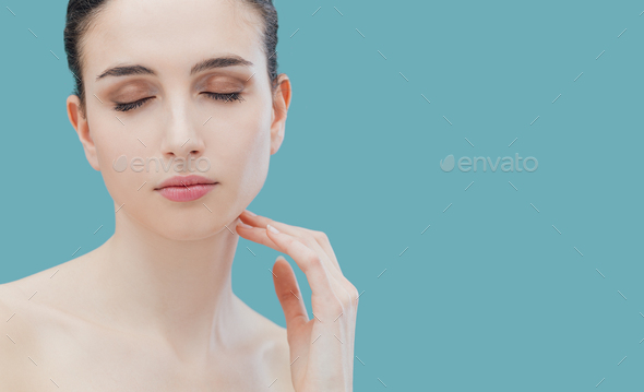 Beauty and skincare - Stock Photo - Images