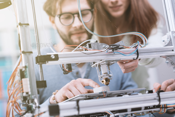 3D printing and education - Stock Photo - Images