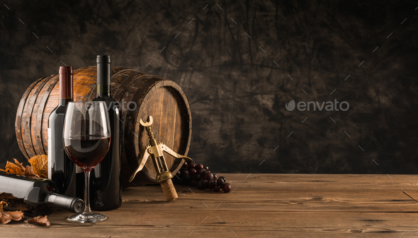 Traditional winemaking and wine tasting - Stock Photo - Images
