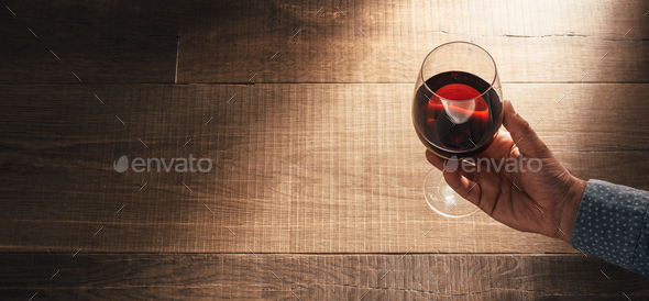 Sommelier tasting excellent red wine - Stock Photo - Images