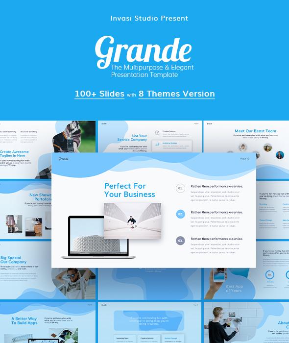 Grande-PowerPoint Presentation Templates - PowerPoint Templates Presentation Templates