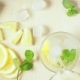 in a Glass with Ice and Mint Pour Water From the Decanter - VideoHive Item for Sale