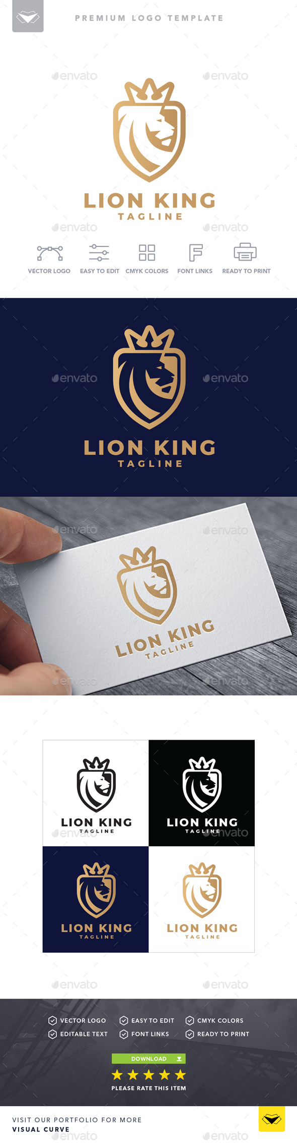 Lion King Logo - Logo Templates