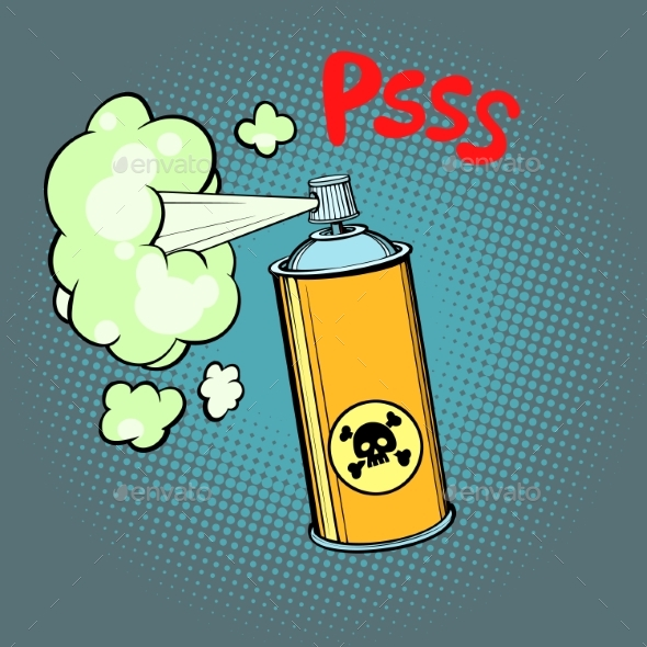Toxic Gas Chemical Waste - Man-made Objects Objects