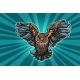 Realistic Owl in Flight