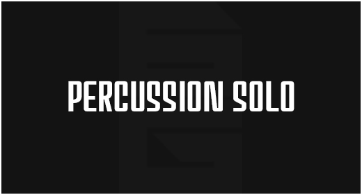 Genre - Percussion Solo