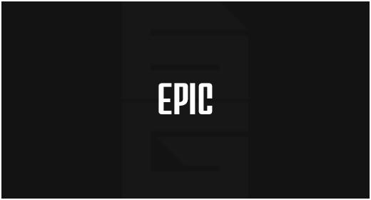 Genre - Epic