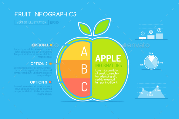 Apple Fruit Infographic - Infographics