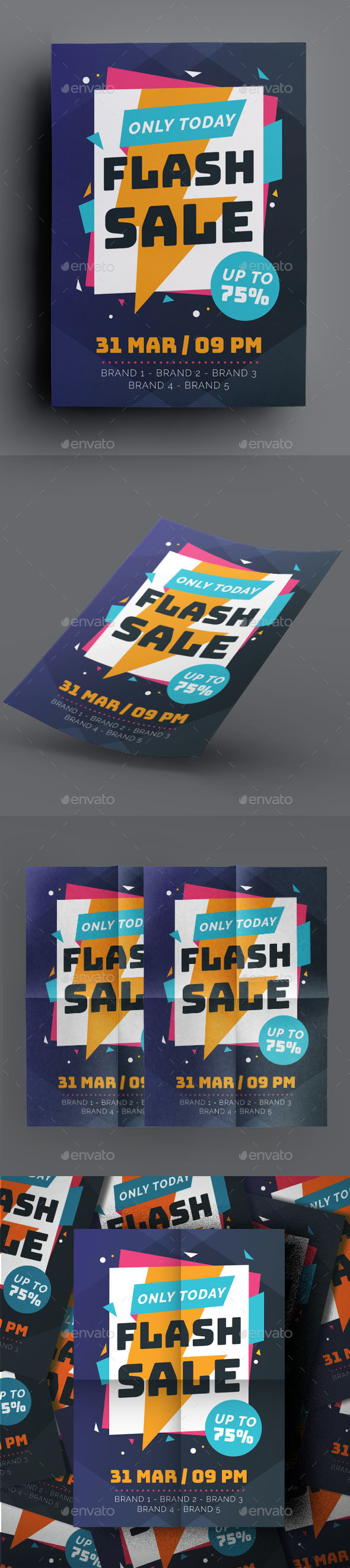 Flash Sale Flyer - Flyers Print Templates