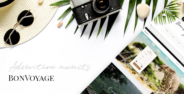 Image of BonVoyage - A Travel Agency and Tour Booking Theme