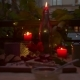 Late Evening Romantic Table with Candle Light - VideoHive Item for Sale