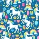 Seamless Pattern with Unicorns and Fantasy Items - GraphicRiver Item for Sale