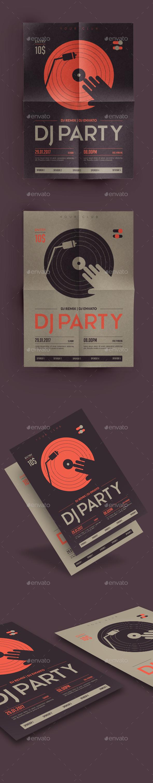 DJ Part Flyer - Clubs & Parties Events