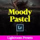 Pastel Matte Lightroom Presets