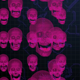 Digital Cyber Hacking Blue Skeleton Heads - VideoHive Item for Sale