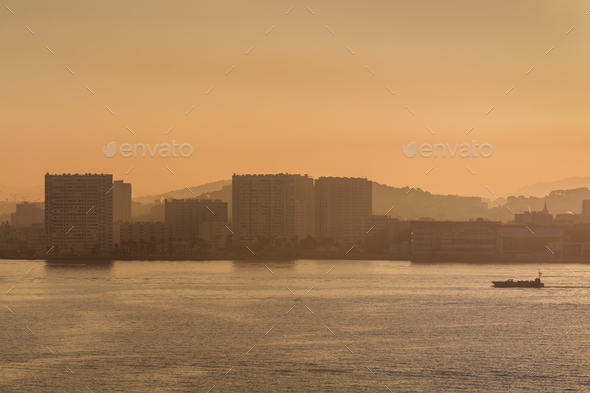 port of Toulon, France - Stock Photo - Images