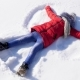 Happy Child Makes Snow Angel - VideoHive Item for Sale