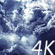 Flying Through Abstract Clouds with Light Rays - VideoHive Item for Sale