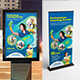 Clean Services Poster & Roll-Up Bundle