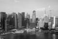 Modern Skyscrapers By River In Singapore - PhotoDune Item for Sale