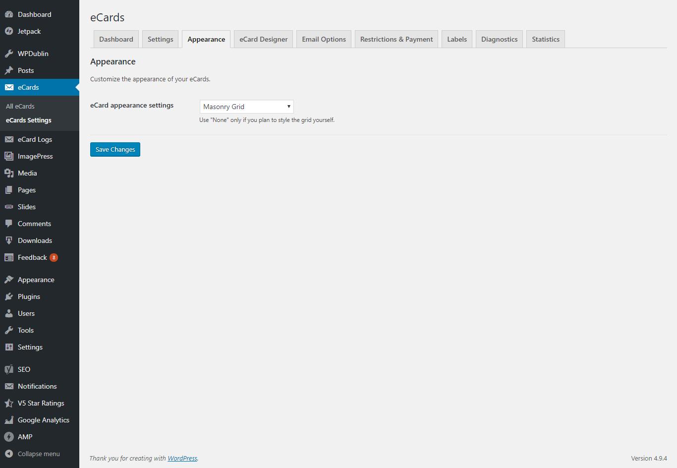 Wordpress Ecards By Butterflymedia Codecanyon