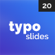 Typography Slides - VideoHive Item for Sale