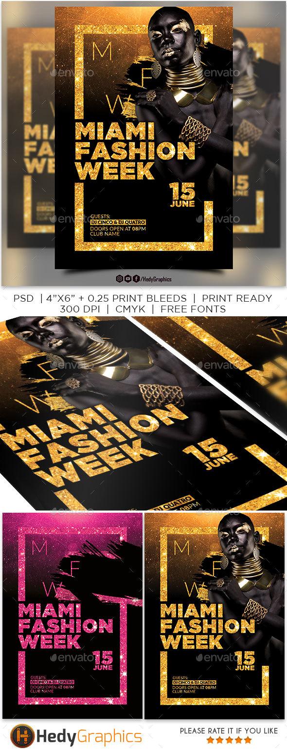 Fashion Week Flyer - Events Flyers