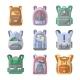 School Backpack Vector Icon Set