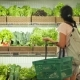 Young Mixed Race Woman Shopping in Grocery Store Vegan Girl Choosing Fresh Green Salads and Organic - VideoHive Item for Sale