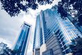 Modern blue glass buildings - PhotoDune Item for Sale